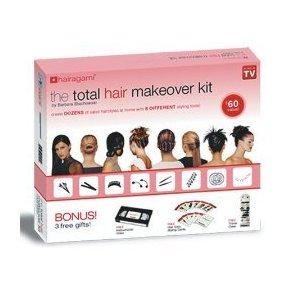 ست کامل درست کردن مو توتال هایر میک اوور
