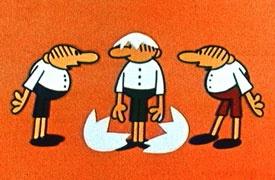 کارتون سه کله پوک (روسی)