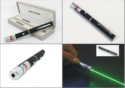 خرید لیزر سبز - لیزر پوینتر قوی با برد بالا Green Laser Pointer