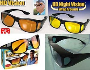 عینک دید در شب اچ دی ویژن اوریجینال