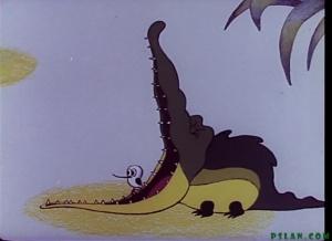 کارتون دندان تمساح