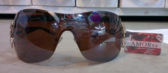 عینک آفتابی آمور AMORss 2028 قهوه ای