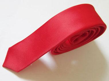 کراوات قرمز باریک مارک Massimo Dutti