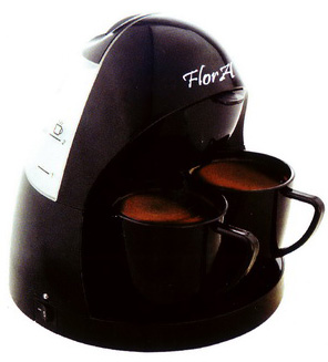 قهوه ساز دو نفره فلورا Flora