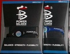 دستبند پاوربالانس مشکی IMPROVED POWERBALANCE سایزهای مختلف با جعبه و کارت اورجینال شرکت پاوربالانس