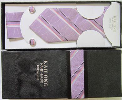 ست کراوات جعبه دار رنگ روشن بسیار شیک کد 40