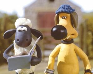 کارتون شان گوسفند