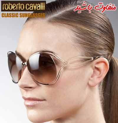 عینک آفتابی روبرتو کاوالی | طلایی