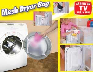 مش درایر بگ Mesh Dryer Bag کیسه نگهدارنده البسه