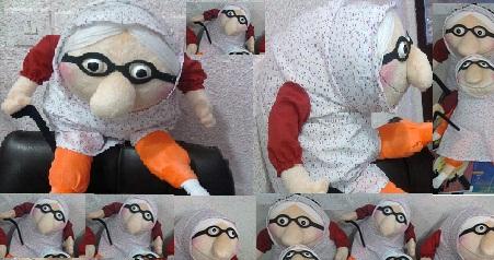عروسک ننه قمر سایز کوچک