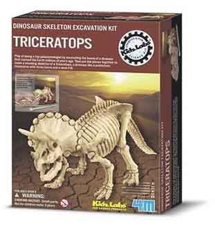 حفاری و کشف تریسراتوپس