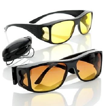 عینک اچ دی ویژن hd vision, عینک دودی یا عینک آفتابی