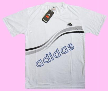 تی شرت آدیداس سفید طرح جدید سایز XL