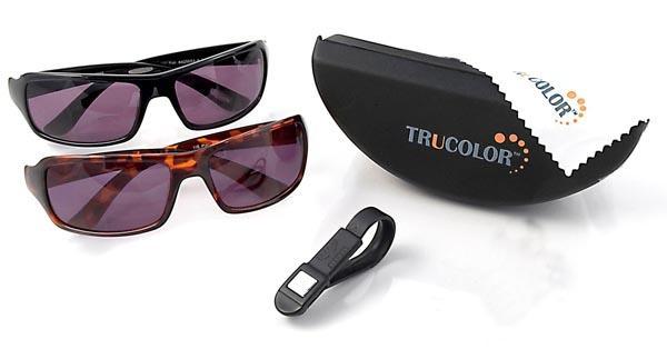 عینک آفتابی تروکاور اصلی یک جفت عینک اصل