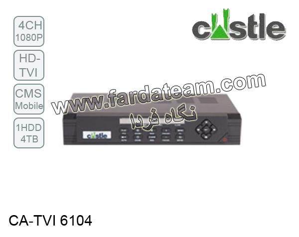 دستگاه ضبط 4 کانال 1080P HD-TVI کستل CA-TVI 6104