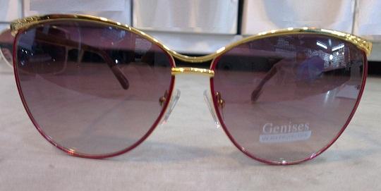 عینک آفتابی Genesis فریم فانتزی طلایی
