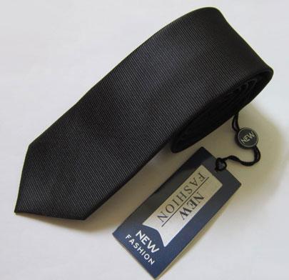 کراوات مشکی باریک micro fibre