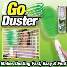 گوداستر Go Duster ( گردگیر پایه کوتاه برای گردگیری )