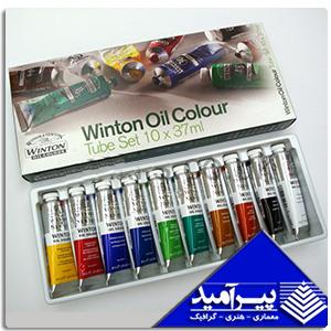 ست رنگ روغن 10 تائي WINTON
