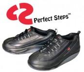 کفش لاغری perfect steps مشکی|کفش لاغری پرفکت استپس مشکی