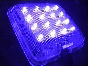 لامپ سقف پراید با ال ای دی آبی