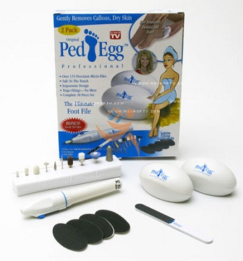 ست پداگ و مانیکور ped egg ست سنگ پا