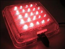 LED لامپ لیزری سقف پراید به رنگ سبز فسفری