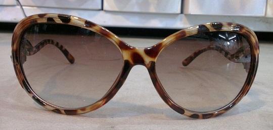 عینک آفتابی فریم فانتزی پلنگی