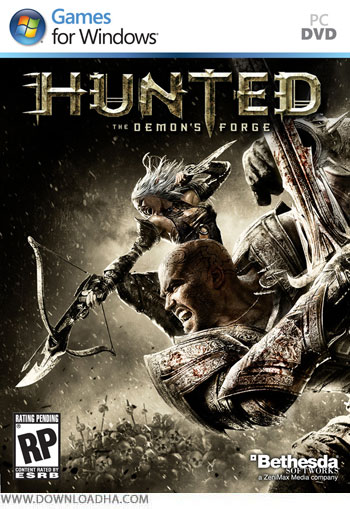 بازی hunted the demon's forge