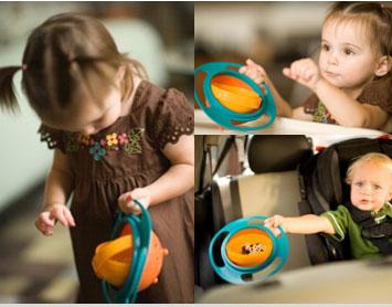 خرید ظرف غذای کودک اصل درجه 1 Universal Gyro Bowl