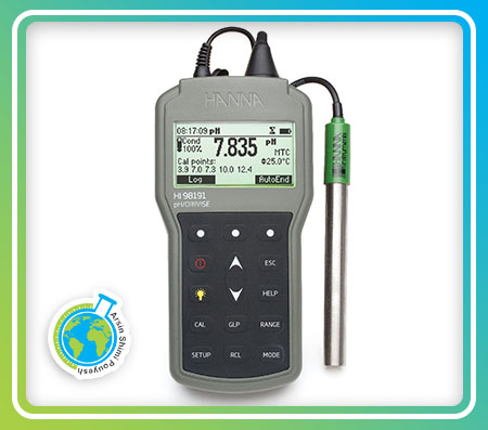 مولتی پارامتر pH، ORP و ISE