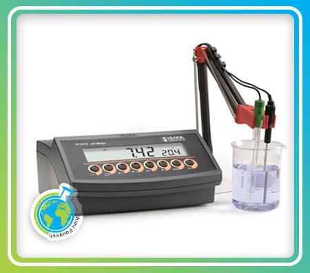 PHمتر رومیزی مدل HI2212