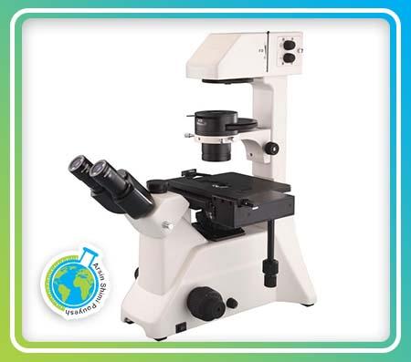 میکروسکوپ سه چشمی اینورت