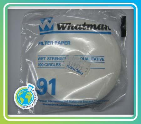 کاغذ فیلتر واتمن 91 سایز 11cm