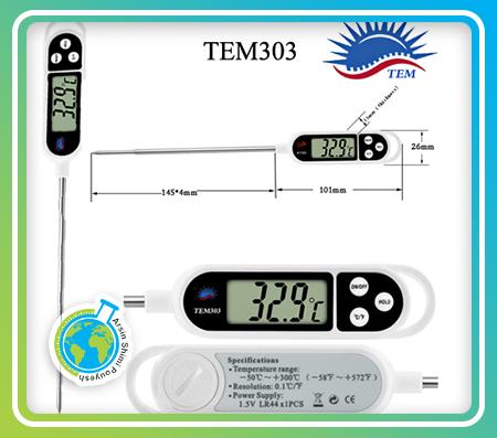 ترمومتر میله ای مدل TEM303