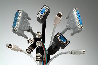 انواع کابل در شبکه های کامپیوتری