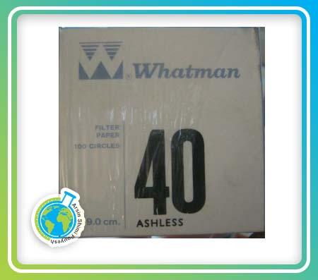 کاغذ صافی واتمن 40 سایز 9cm