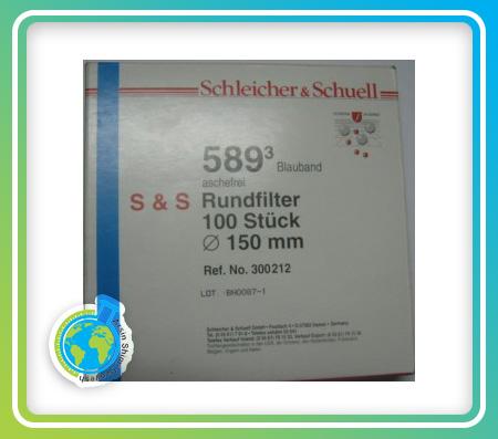 کاغذ فیلتر اس & اس نمره 589/3