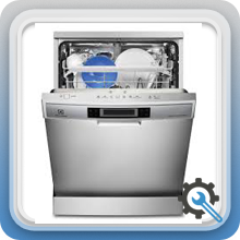 عیوب احتمالی در ماشین ظرفشویی