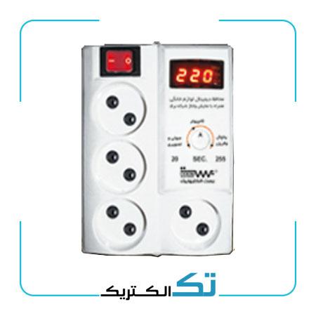 محافظ برق مولتی دیجیتال