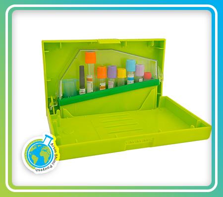 جعبه حمل نمونه بیولوژیکی