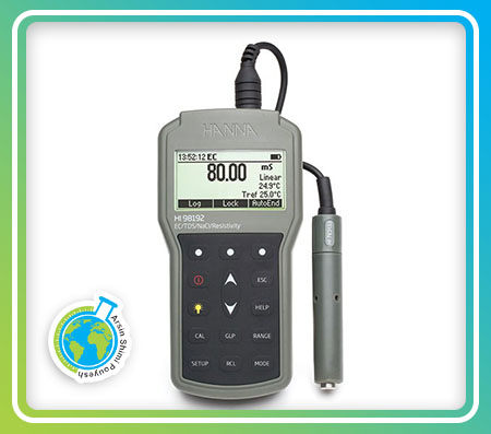 EC/TDS متر پرتابل مدل HI98192