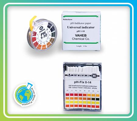 کاغذ pH ایرانی 1 تا 10