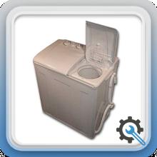 ماشین لباسشویی نیمه اتوماتیک دو مخزنه(دو قلو)