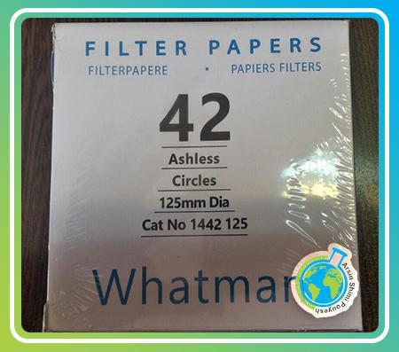 کاغذ صافی واتمن 42