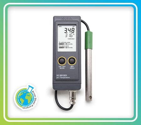 PH متر پرتابل  مدل HI991001