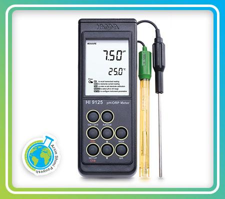 PHمتر پرتابل ضد آب مدل HI9125