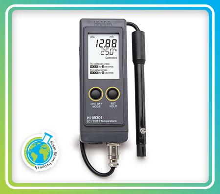 EC/TDS متر پرتابل مدل HI99301