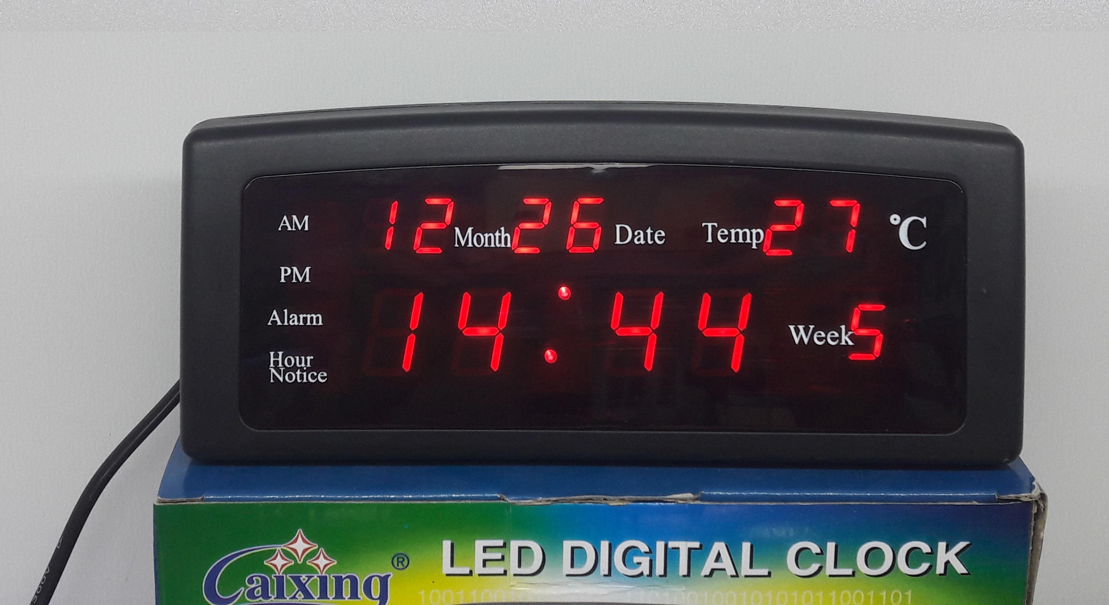 ساعت رومیزی دیجیتال کد:12021